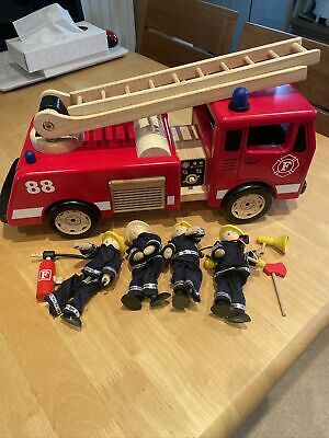 John Crane Pintoy Large Wooden Fire Engine 3 Years + No Reserve • 0.99£