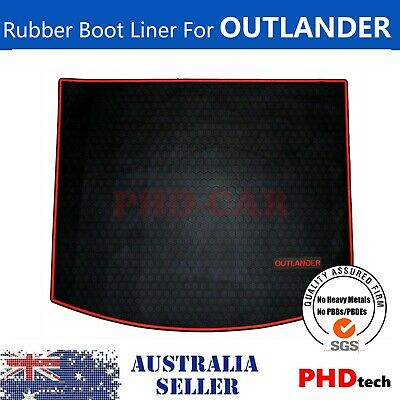 AU69 • Buy Cargo Trunk Rubber Mat Boot Liner For Mitsubishi Outlander 2012-2020 ZJ ZK ZL RE