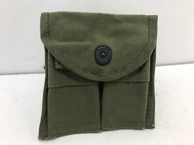 $12.50 • Buy M-1 Carbine Mag Belt Pouch Early Vietnam Sterile