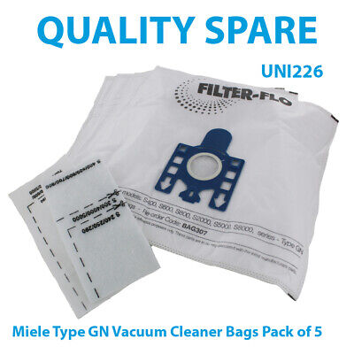 Miele Compatible Vacuum Cleaner Bags Type GN Pack Of 5 • 9.95£