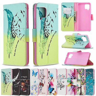 $ CDN5.57 • Buy For Samsung S20 FE A42 5G A01 A11 A70E Patterns Leather Wallet Stand Case Cover