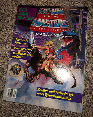 $37.50 • Buy Vintage He-Man And Masters Of The Universe Magazine Spring 1987 Complete Poster