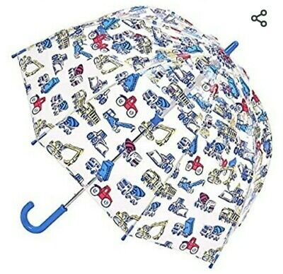 CATH KIDSTON Umbrella  Trucks And Diggers BOYS • 7.10£