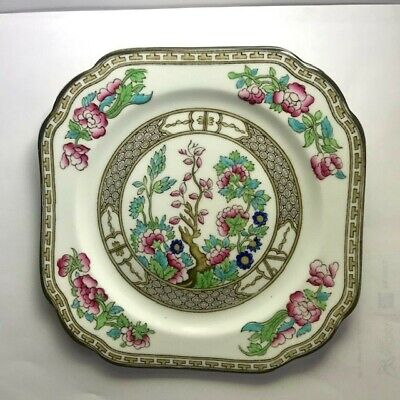Sampson Bridgwood & Son .Indian Tree Pattern . Antique 1910 -1920 Cake Plate • 16.33£