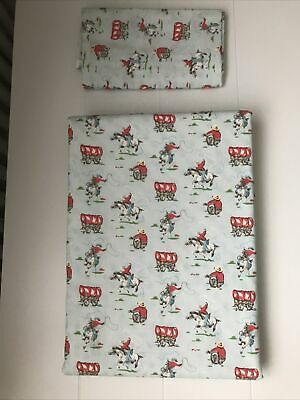 Mini Cowboy/mini Stars Cath Kidston Duvet Cover+ Pillow Case+two Fitted Sheets • 19.99£
