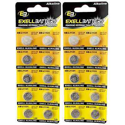 AU9.24 • Buy 2pc 10pk Exell EB-L1131 Alkaline 1.5V Watch Battery Replaces AG10 389