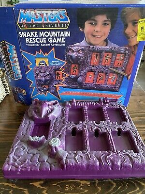 $100 • Buy Snake Mountain Rescue Game, Masters Of The Universe He-Man