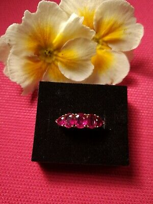 14ct RUBY RING 3.6G Of Gold Beautiful • 229£