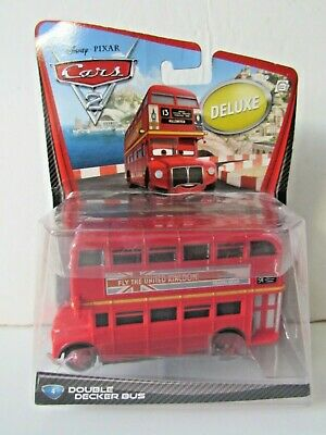 $ CDN40.82 • Buy Mattel Disney Pixar Cars 2 Deluxe Diecast Double Decker Bus
