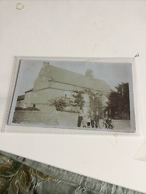 Old Postcard Of Yew Tree House Cawood Yorkshire • 6£