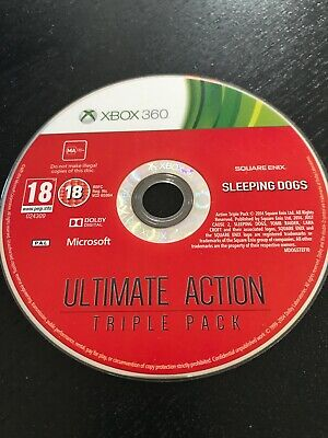 £2 • Buy DISC ONLY - XBOX 360  - Sleeping Dogs