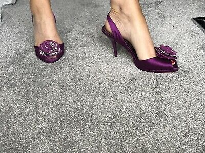 """Glamorous Shoes BY BOURNE  NEW Size 5 .Magenta """" Style Petunia """" UK Buyer's Only • 7.50£"""