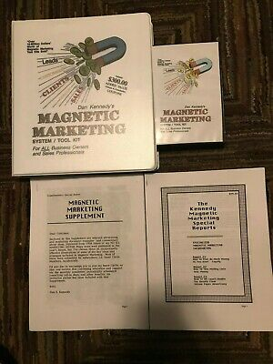 Dan Kennedy MAGNETIC MARKETING With Supplement/Reports +  Free Priority Shipping • 48.23£