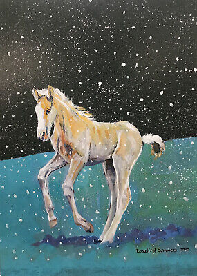 £3.50 • Buy Mare And Foal Sanctuary Charity Christmas Cards 10 Pack