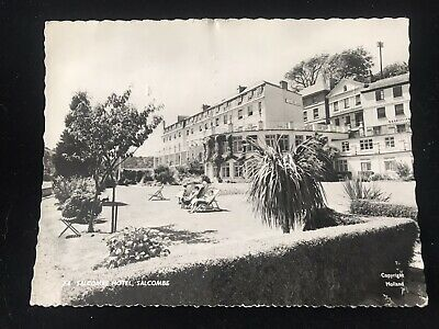 Devon - Salcombe, Salcombe Hotel Real Photo Postcard 1962 Frith's Series  • 1.50£