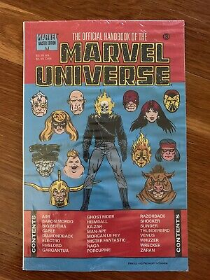 $4.99 • Buy OFFICIAL HANDBOOK OF THE MARVEL UNIVERSE #3 ~ Master Edition  Sealed  NM 1991