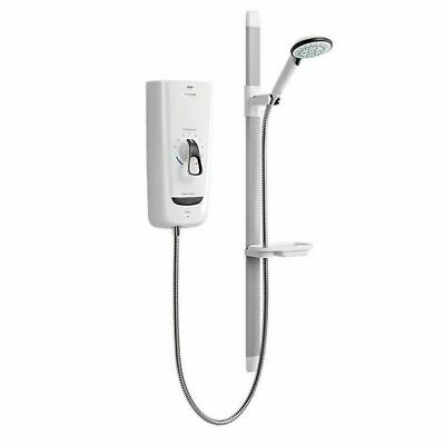 Mira 1.1785.003 Advance Flex 8.7 KW Thermostatic Electric Shower - White • 210£