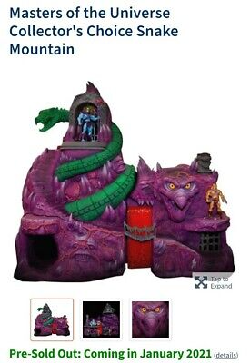 $1400 • Buy Masters Of The Universe MOTU Classics SNAKE MOUNTAIN PLAYSET Super7 Preorder