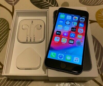 Apple IPhone 6 64GB (Unlocked) Smartphone Space Grey Boxed With All Accessories • 45£