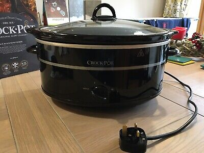 Crock-Pot 6.5l Slow Cooker Used In Perfect Condition In Original Box • 5£