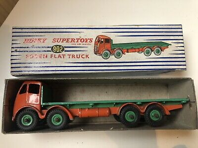 Dinky Foden Flat Truck (902) And Box • 36.62£