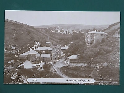 Postcard Reproduction Boscastle Village 1894 Cornwall Uk Frith Collection • 0.99£