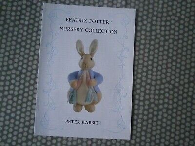 Beatrix Potter Nursery Collection Knitting Pattern • 12£