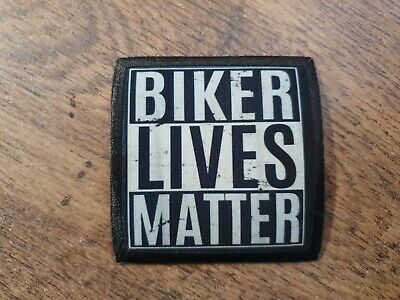 £4.50 • Buy BIKER LIVES MATTER MOTORCYCLE HARLEY CHOP VTWIN BOBBER TRIUMPH Sew On Patch