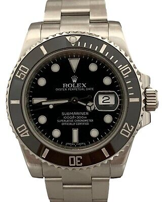 $ CDN13890.57 • Buy Rolex Submariner Date Automatic Stainless Steel 116610 Black Ceramic Watch