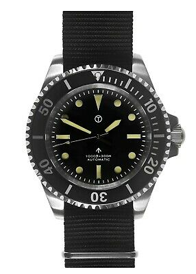 $ CDN383.38 • Buy MWC 24 Jewel Classic 1982 Pattern Military Retro Divers Watch + Sapphire Crystal