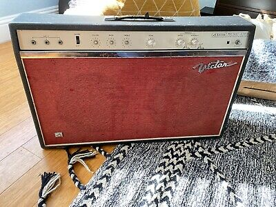 $ CDN1020.72 • Buy Vintage 1960's Victor MA-40 Music Amp Black - MA-40 - Guitar Amp -
