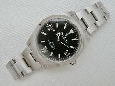 $ CDN8965.33 • Buy Mens Pre Owned Rolex Oyster Perpetual Explorer 214270 Wristwatch 39 Mm W/Box