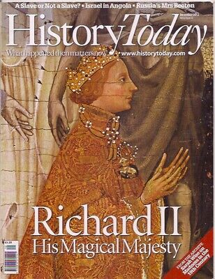 History Today-DEC 2012-RICHARD II-HIS MAGICAL MAJESTY. • 7.50£
