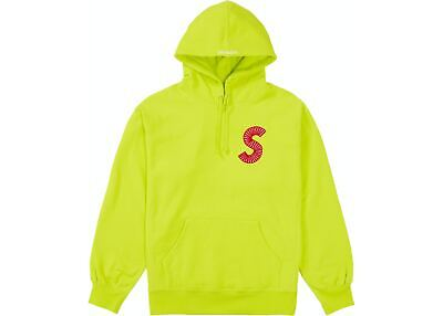 $ CDN311.02 • Buy Supreme S Logo Hoodie Acid Green FW20 Size XL Trusted Seller 100% Authentic New