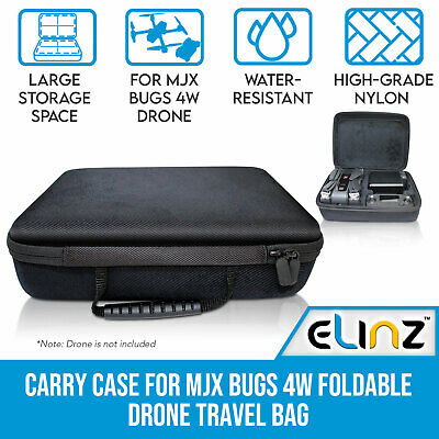 AU49.99 • Buy Carry Case For MJX Bugs 4W Foldable Drone Quadcopter Portable Storage Travel Bag