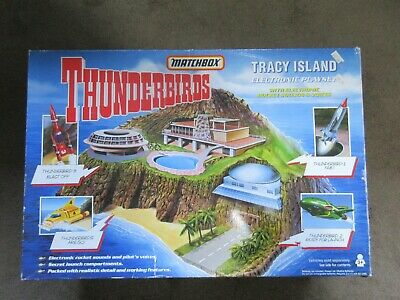 Matchbox Thunderbirds Tracy Island Electronic Playset 1992 New Boxed • 110£