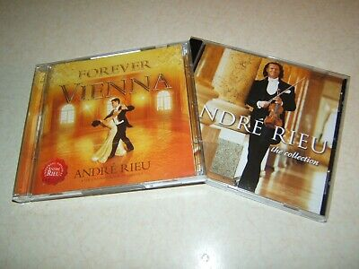 Andre Rieu :  Forever Vienna  Cd/dvd & The Collection Cd Album    • 4.49£