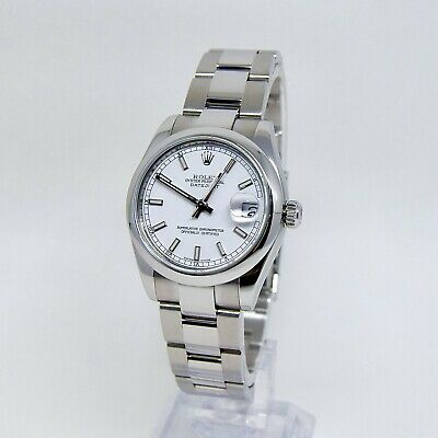 $ CDN8173.45 • Buy Rolex Datejust 178240 Box And Papers White Baton Dial Full Set