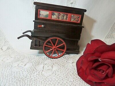 Vintage Tallent Of Old Bond Street Novelty Music Box Musical Barrow Organ Reuge • 59.99£