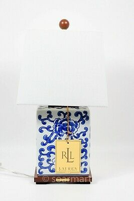 Ralph Lauren RLL Dragon White And Blue Table Lamp / Chinese Porcelain Lamp • 91.06£