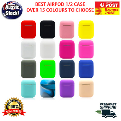 AU4.45 • Buy Apple Airpods Silicone Gel Case Shockproof Protective Cover Skin Case Airpod 1 2