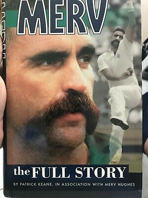 AU39 • Buy Cricket Book Signed By Merv Hughes