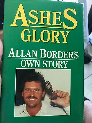 AU35 • Buy Cricket Book Signed By Allan Border