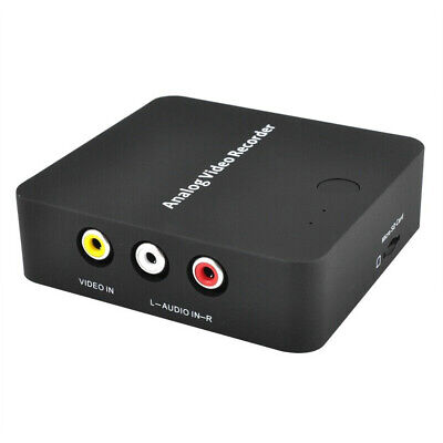 Portable With Cable HDMI Output AV Audio Digital Converter Video Recorder Card • 32.11£