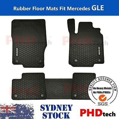 AU99 • Buy Heavy Duty Rubber Floor Mats Tailored For Mercedes M GLE Class AMG 2012-19 W166