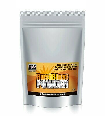 AU63.90 • Buy KBS Rust Blast Powder 1KG Rust Remover Removal RustBlast Corrosion Prevention
