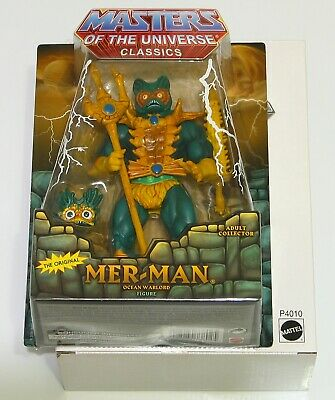 $104.99 • Buy Masters Of The Universe Classics MER-MAN Action Figure MOTUC MOC W/ Mailer NEW