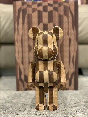 $15400 • Buy Medicom Karimoku Bearbrick Nyabrick Rabbrick 400% Figures Six Pcs Set