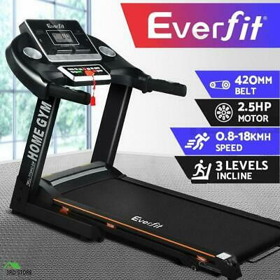 AU510 • Buy RETURNs Everfit Electric Treadmill Home Gym Exercise Machine Fitness Equipment
