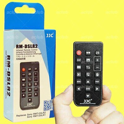 AU23.25 • Buy JJC Infrared Remote Control For Sony A7 A7R A7S A9 A99 A6000 A6300 A6400 A6500